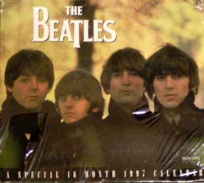 Beatles Books - The Beatles: A Special 16 Month 1997 Calendar