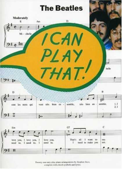 Beatles Books - I Can Play That Beatles 1 Pvg