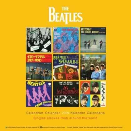 Beatles Books - Beatles Square Calendar 2009