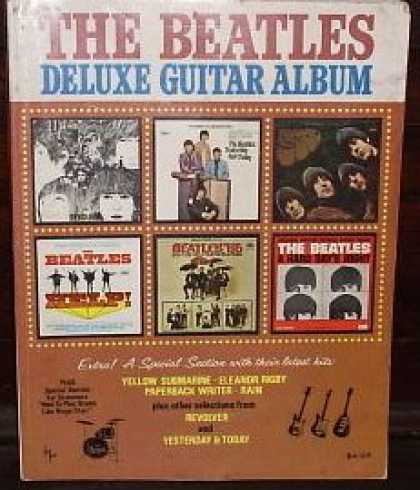 Beatles Books - The Beatles Deluxe Guitar Album