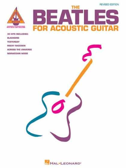 Beatles Books - The Beatles for Acoustic Guitar Edition (Guitar Recorded Versions)