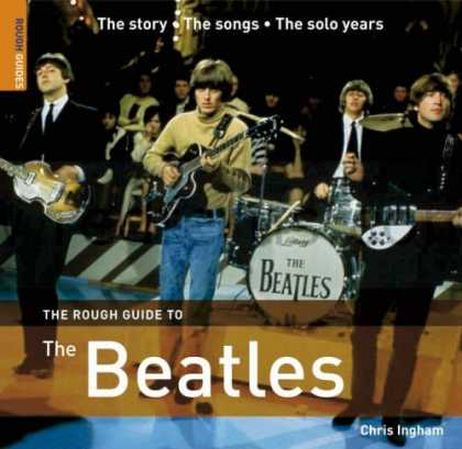 Beatles Books - The Rough Guide to The Beatles (Rough Guide Music Guides)