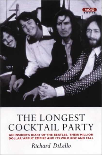 Beatles Books - The Longest Cocktail Party: An Insider's Diary of The Beatles, Their Million-Dol