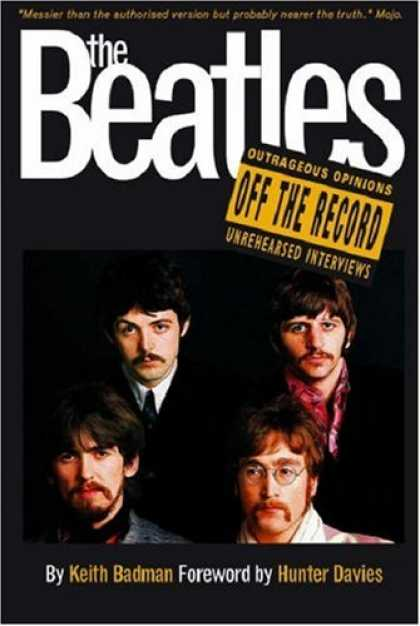 Beatles Books - Beatles Off The Record