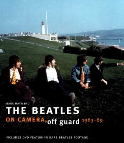 Beatles Books - The Beatles: On Camera, Off Guard 1963-69 (Book & DVD)