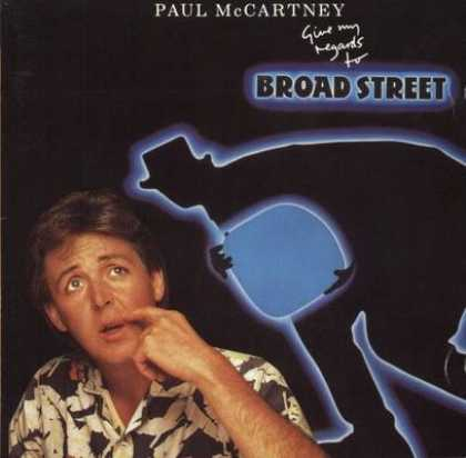 Beatles - Paul McCartney - Give My Regards To Broadstreet