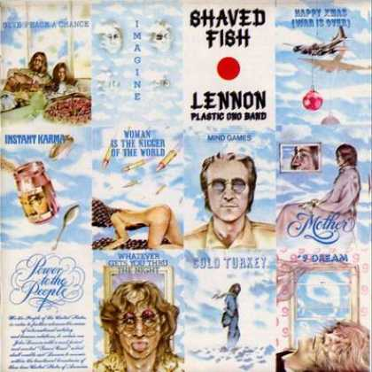 Beatles - John Lennon Shaved Fish