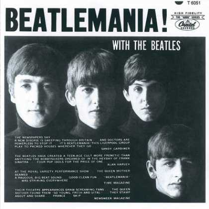 Beatles - The Beatles - Beatlemania! With The Beatles (can)
