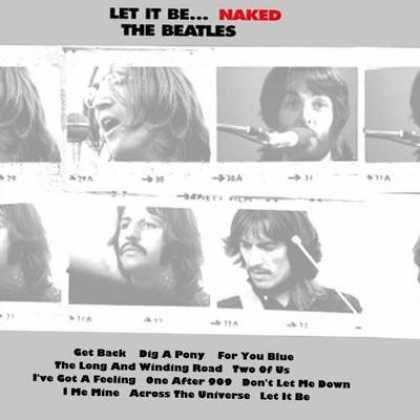 Beatles - The Beatles Let It Be Naked