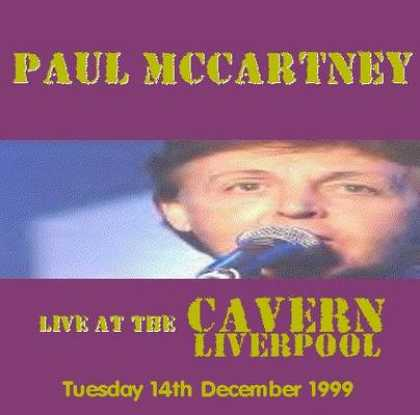 Beatles - Paul McCartney - Live At The Cavern
