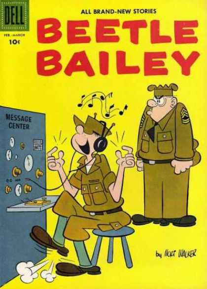 Beetle Bailey 13 - Soldiers - Music - Finger Snap - Message Center - Headphones