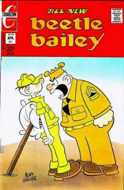 Beetle Bailey 98 - Cadet - Soldier - Cammander - Yelling - All New
