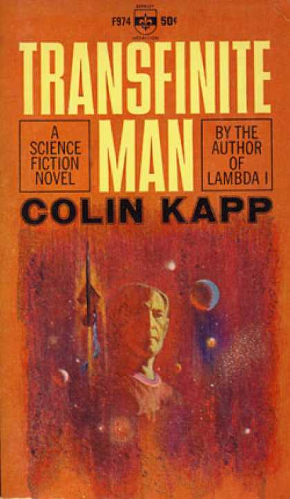 Berkley Books - Transfinite Man - Colin Kapp