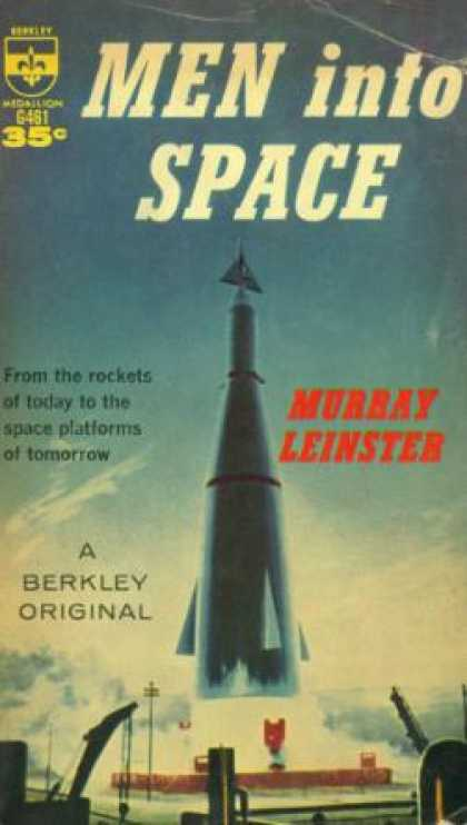 Berkley Books - Men Into Space - Murray Leinster