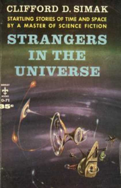 Berkley Books - Strangers In the Universe - Clifford D. Simak