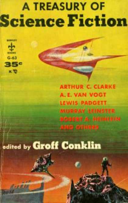 Berkley Books - A Treasury of Science Fiction - Groff; Editor Conklin