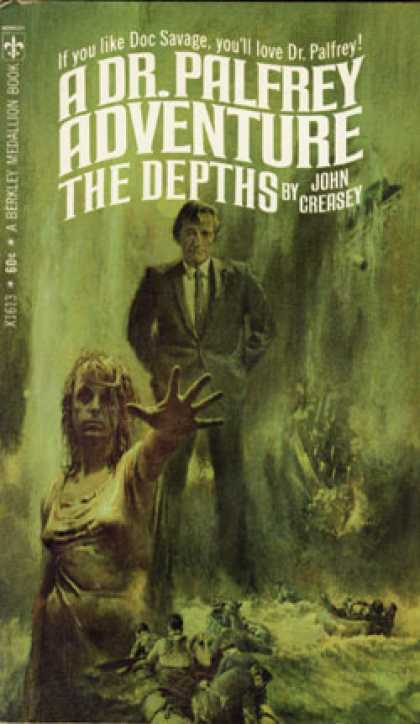 Berkley Books - The Depths - John Creasey