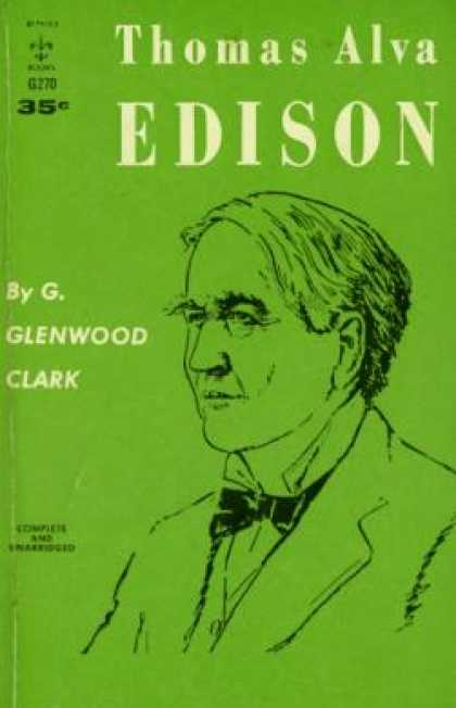 Berkley Books - Thomas Alva Edison; - G. Glenwood Clark