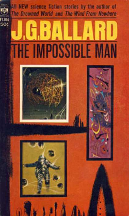 Berkley Books - The Impossible Man and Other Stories - J. G. Ballard