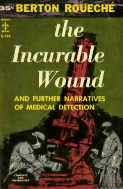 Berkley Books - Incurable Wound, and Further Narratives of Medical Detection - Berton Rouechã©