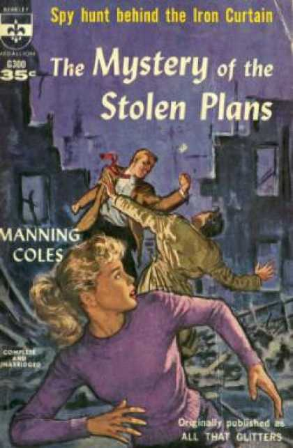 Berkley Books - The Mystery of the Stolen Plans