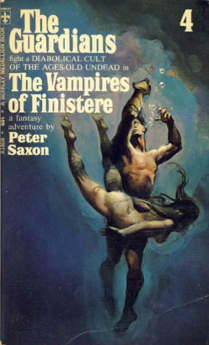 Berkley Books - The Guardians 4: The Vampires of Finistere - Peter Saxon