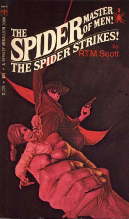 Berkley Books - The Spider Strikes! - R.t.m. Scott