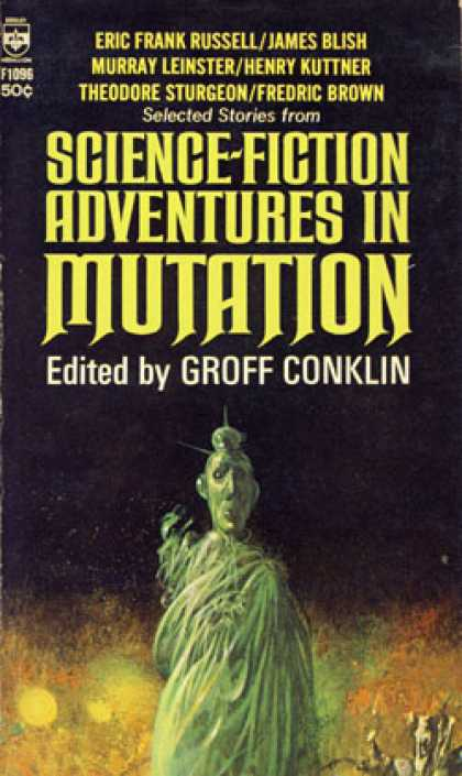 Berkley Books - Science Fiction Adventures In Mutation: Chain of Command; Battle of the Unborn;