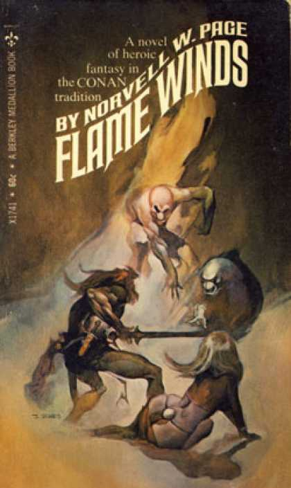 Berkley Books - Flame Winds - Norvell Page