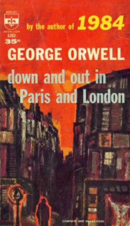 Berkley Books - Down and Out In Paris and London - George Orwell
