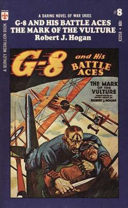 Berkley Books - G-8 and His Battle Aces #8: Mark of the Vulture - Robert J. Hogan