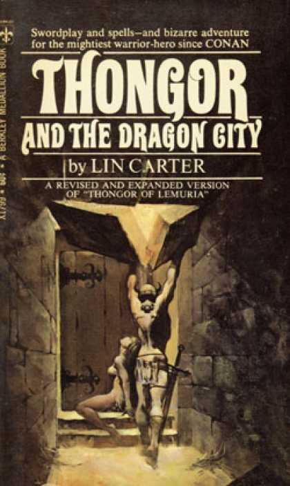Berkley Books - Thongor and the Dragon City - Lin Carter