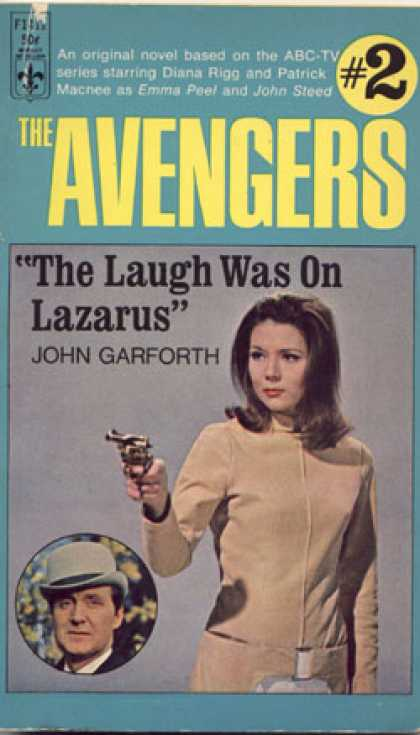 Berkley Books - The Laugh Was On Lazarus - John Garforth