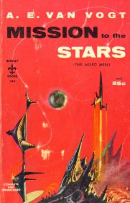 Berkley Books - Mission To the Stars - A.e. Van Vogt