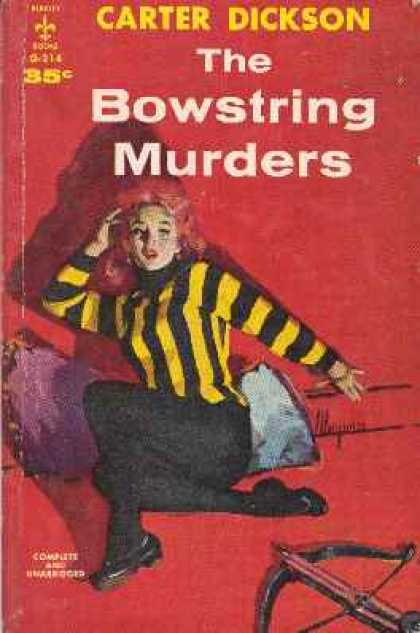 Berkley Books - The Bowstring Murders - Carter Dickson
