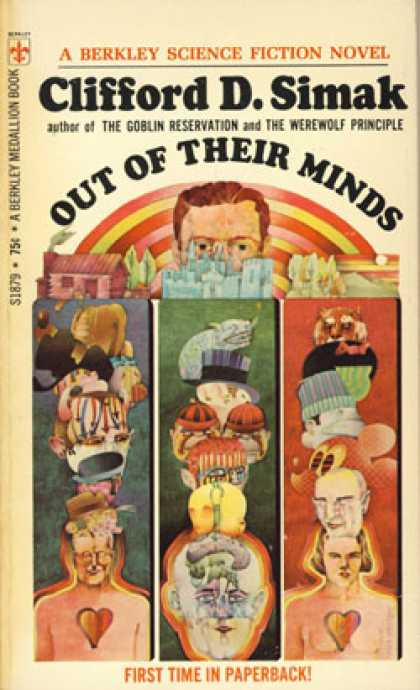 Berkley Books - Out of Their Minds - Clifford Simak