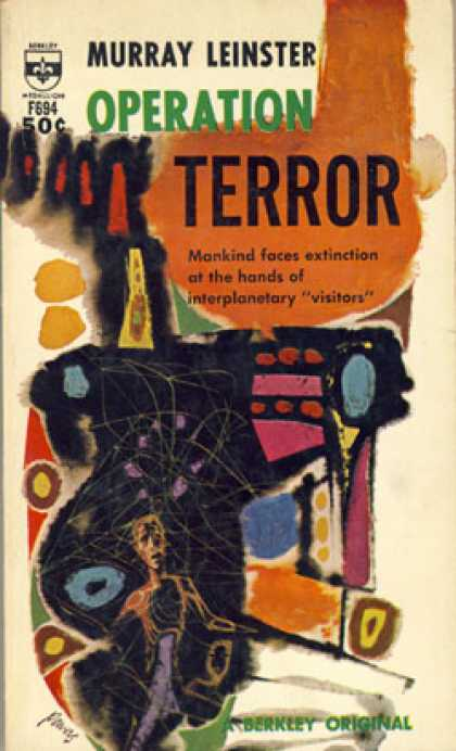 Berkley Books - Operation Terror - Leinster. Murray