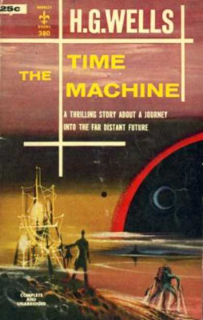 Berkley Books - The Time Machine - H.G. Wells