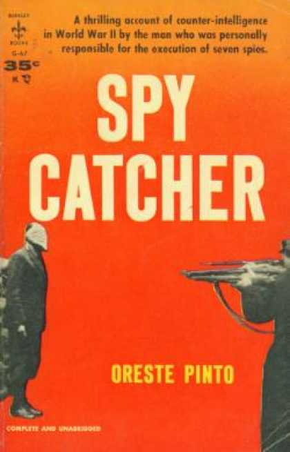 Berkley Books - Spy Catcher - Oreste Pinto