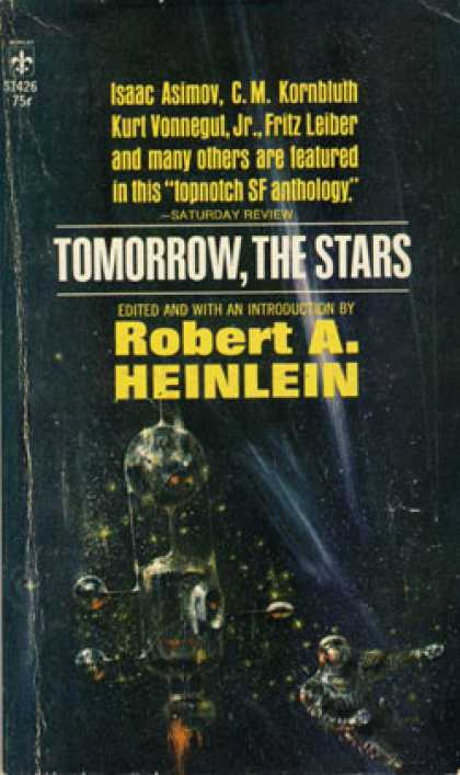 Berkley Books - Tomorrow the Stars - Robert A. Heinlein