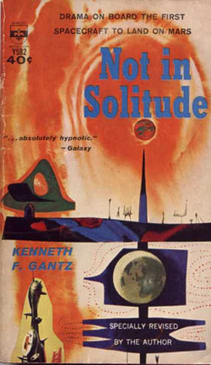 Berkley Books - Not In Solitude - Kenneth F. Gantz