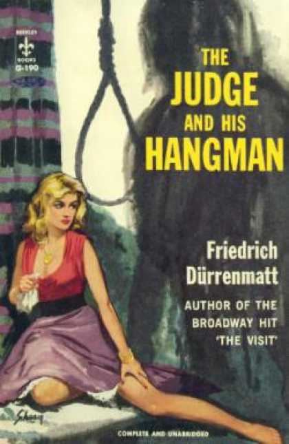 Berkley Books - The Judge and His Hangman - Friedrich Durrenmatt
