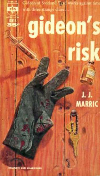 Berkley Books - Gideon's Risk - John Creasey