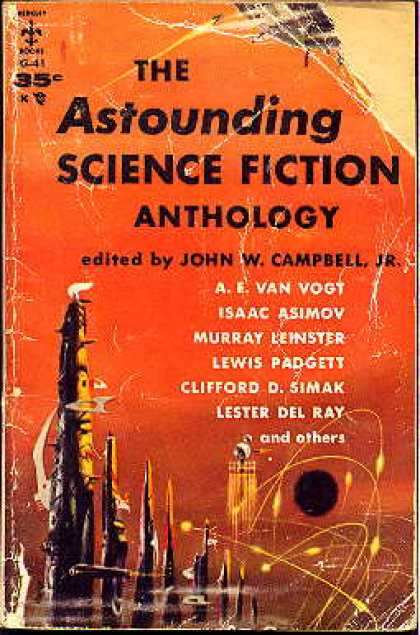 Berkley Books - The Astounding Science Fiction Anthology