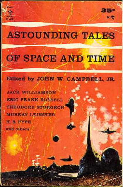 Berkley Books - Astounding Tales of Space and Time - Jack Williamson