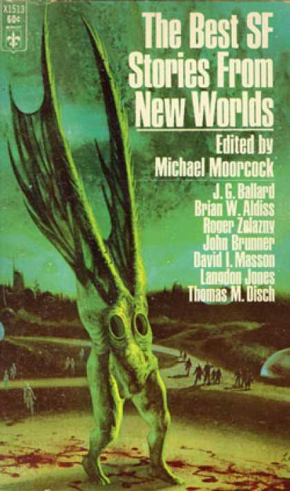 Berkley Books - The Best SF Stories from New Worlds - Michael Moorcock, editor