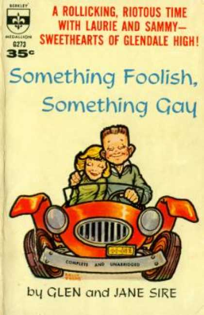 Berkley Books - Something Foolish, Something Gay