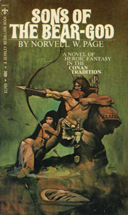 Berkley Books - Sons of the Bear-god - Norvell W. Page