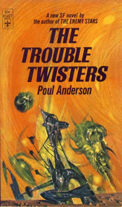 Berkley Books - The Trouble Twisters - Poul Anderson
