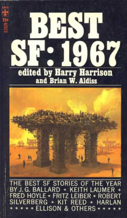 Berkley Books - Best Sf: 1967 - Harry Harrison